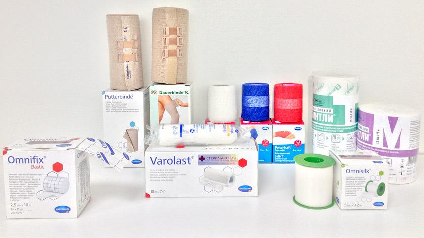Лечение хронических ран. Фиксирующие бинты и пластыри. Стерильно.com